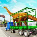 Dino Transport Truck Games: Dinosaur Game icon