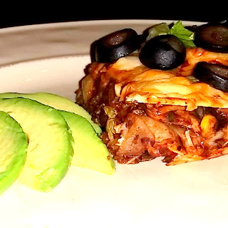 Ranchera Chicken Mexican Lasagna