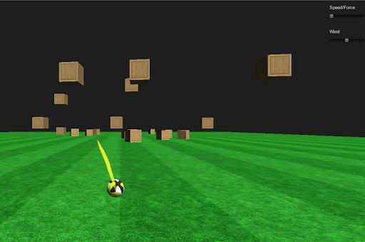Football Boxes Shooter 3D