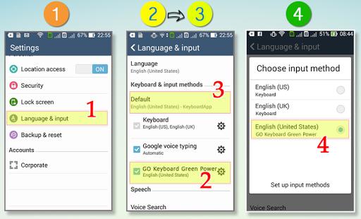GO Keyboard Green Power|玩個人化App免費|玩APPs