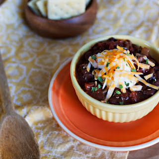 Smoky Black Bean & Turkey Chili