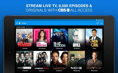 CBS Full Episodes and Live TV- screenshot thumbnail