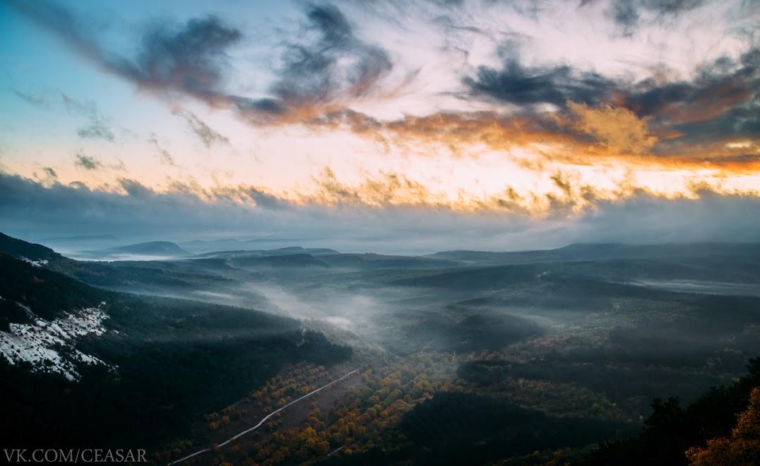 Рассвет на Чуфут-Кале