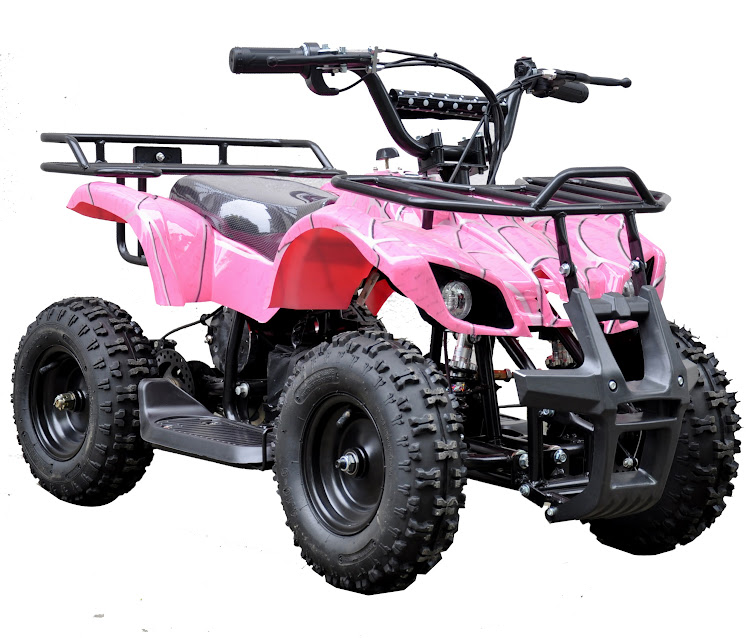 49cc farm ag kids quad bike atv 2 stroke pink girls cheap discount