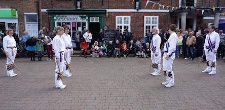 Photo: TO START  THE AFTERNOON FROM ODDINGTON 'ONE MAN'S MORRIS'
