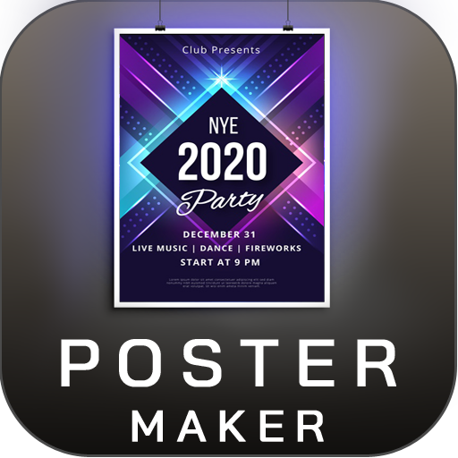 Baixar Poster Maker Flyer Maker 2020 free graphic Design