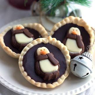 Dark Chocolate Ganache Tarts Recipe