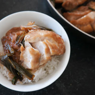 Soy Sauce Poached Fish Recipe