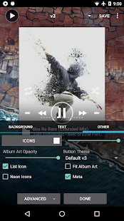 Poweramp Music Player (Trial) Screenshot