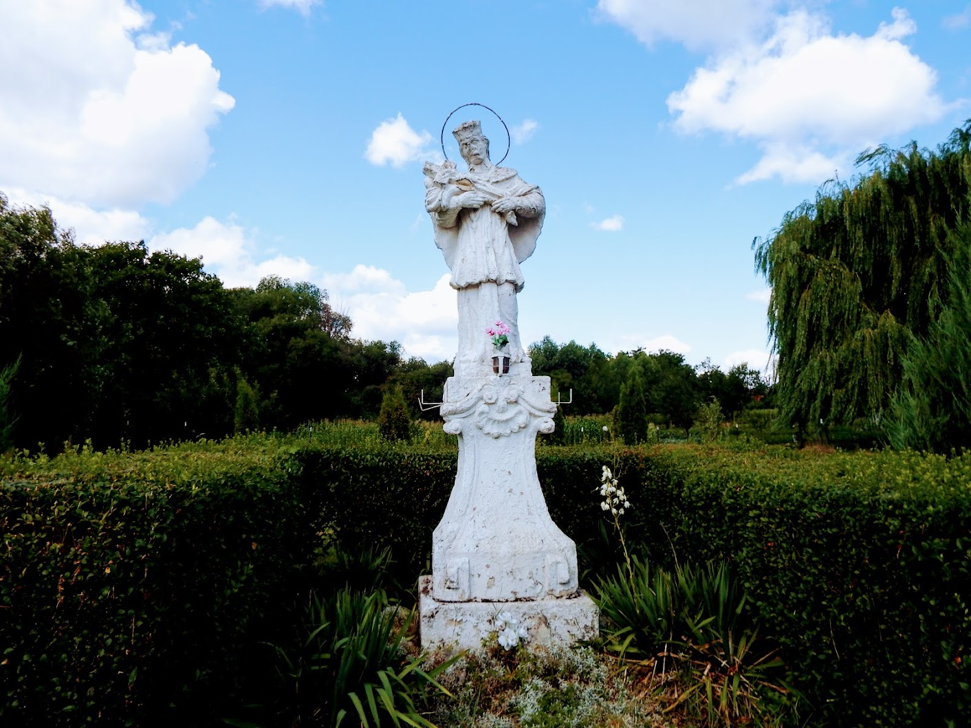 Pusztavám - Nepomuki Szent János-szobor