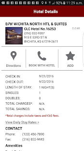 Clc Lodging Hotel Locator Screenshot Thumbnail