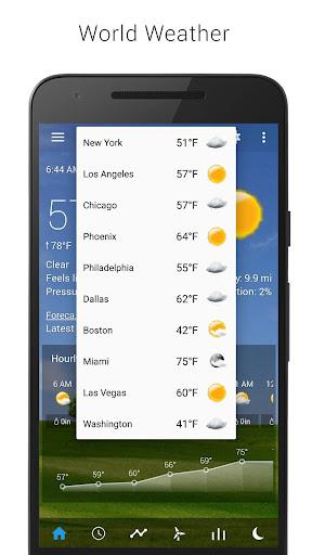 3D Flip Clock & Weather screenshot 6