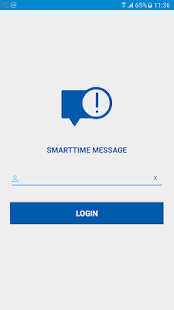 SmartTime Message - náhled