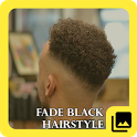Fade Black Hairstyle icon