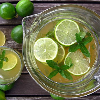 Lime Mint Green Tea Recipes