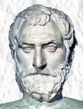 Thales' bust