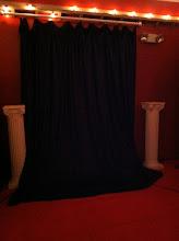 Photo: photo booth backdrop