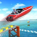 Water Surfer Speed Boat Stunts: Racing Games APK