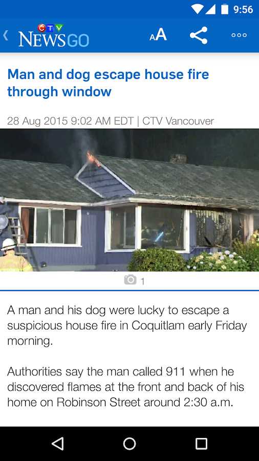 CTV News GO- screenshot