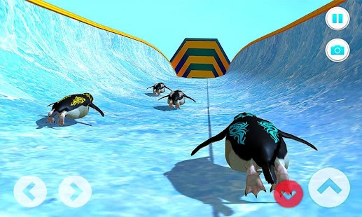 Club Penguin Waterslide: Superfly Racing Game 2018 - náhled