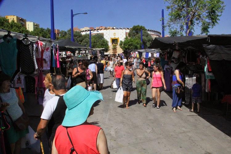 Libres Por Algeciras propone soluciones para los comerciantes del Mercadillo