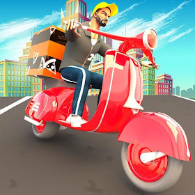 Pizza Delivery Boy: City Bike Driving Games