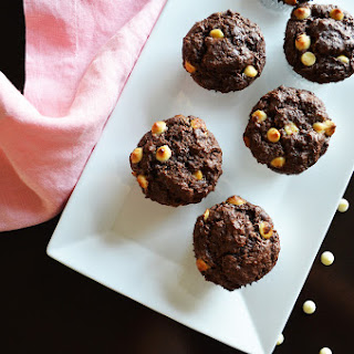 Perfected Double Chocolate Muffins