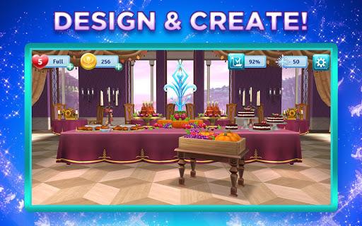 Disney Frozen Adventures: Customize the Kingdom apkmr screenshots 2