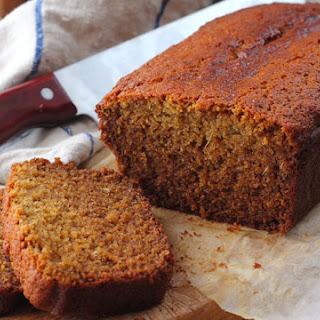 Honey Fennel Gingerbread Loaf.