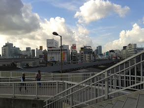 Photo: Looking South from Ueno Station