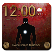 Lock Screen inspired Iron Man
