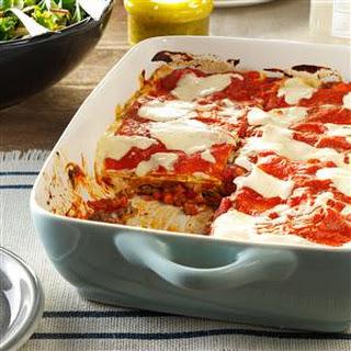 Cannelloni-Style Lasagna.