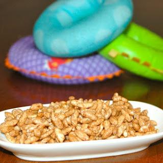 Puffed Rice Carob Krispies