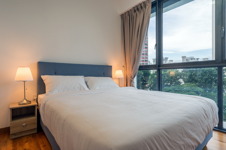 Luxury bedroom at Pasir Ris Central Residence