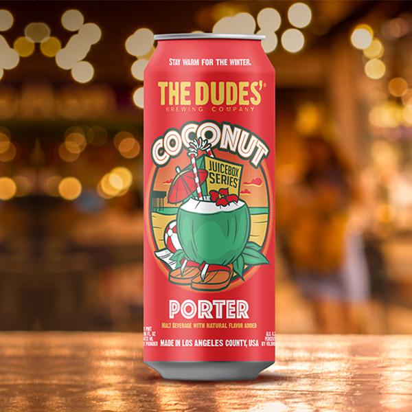 Logo of The Dudes' Juicebox Series: Coconut Porter