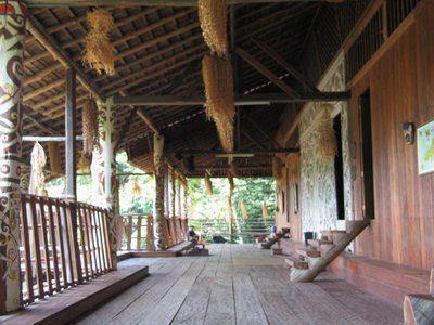 Orang Ulu Long House