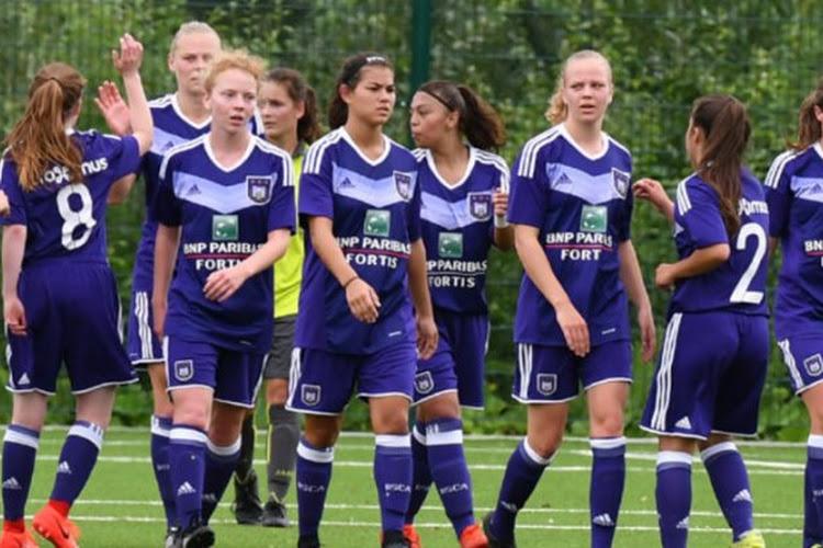 Anderlecht bat Saint-Ghislain en préparation grâce à Sarah Wijnants