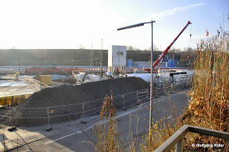 Photo: So vollgestellt war der Abstellbahnhof noch nie