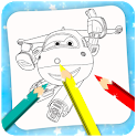Coloring Game for Super Swings icon