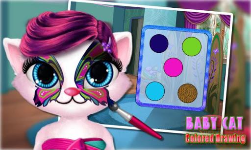 無料模拟Appの孟ペットの猫の絵|記事Game
