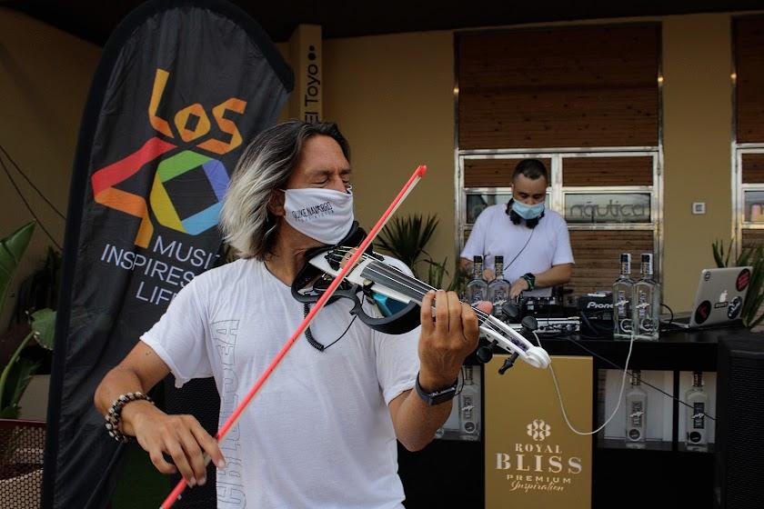 Made in Ibiza magic island, fiesta de Los40 y Náutica