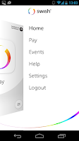 Screenshot of Swish payments