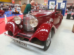 Photo: Peter and Jan Price's 3½ Litre Bentley DHC