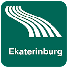 Ekaterinburg Map offline icon