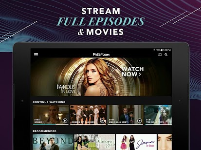 Freeform – Stream Full Episodes, Movies, & Live TV- screenshot thumbnail