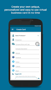 Vcard holder create share exchange business card apps on google play screenshot image colourmoves