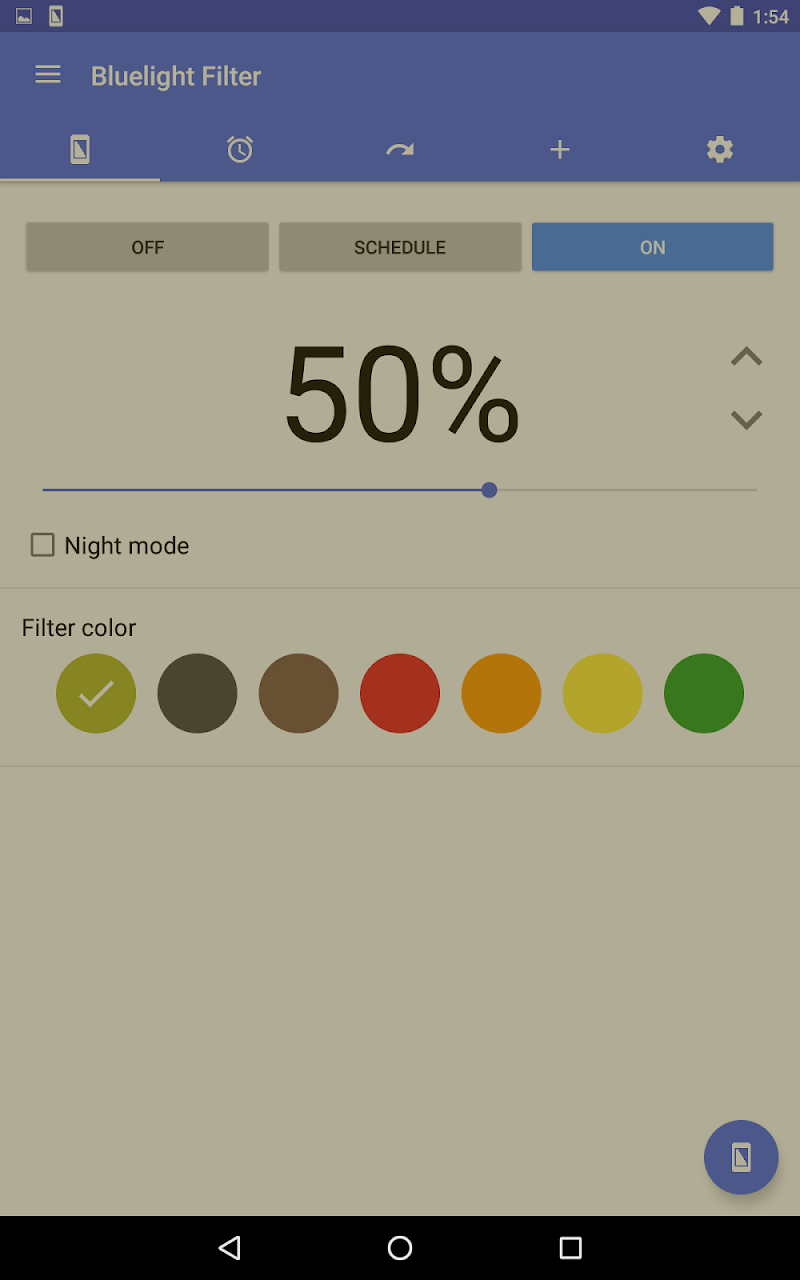 Bluelight Filter for Eye Care Screenshot 7