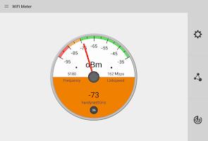 Screenshot of WiFi Signal Strength