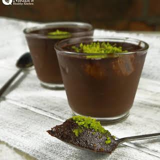 Dairy-free Chocolate Pudding.