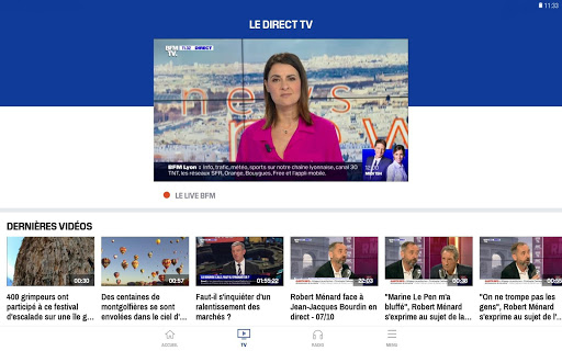 BFMTV - Actualitu00e9s France et monde & alertes info 4.2.5 Screenshots 9